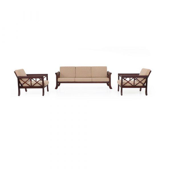 Tulip Solid Wood Sofa Set By Furniture Magik