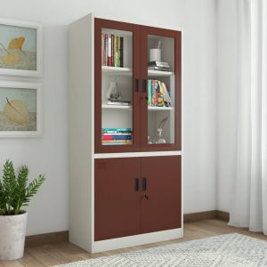 Woodness Cameron Metal Close Book Shelf