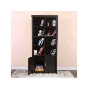 Woodness Dublin Engineered Wood Semi-Open Book Shelf