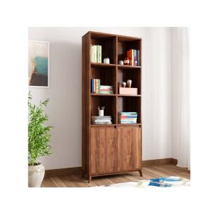 Woodness Engineered Wood Semi-Open Book Shelf