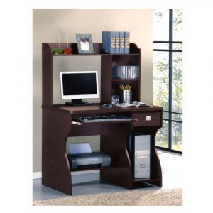 Woodness Geneva Engineered Wood Computer Desk (Modular, Finish Color - Wenge)