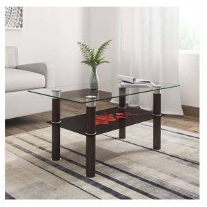 Woodness Jane Glass Coffee Table