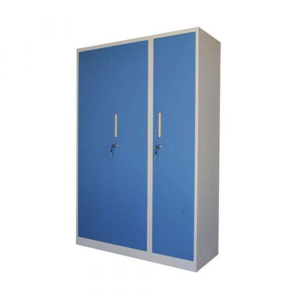 Woodness Ryan Metal 3 Door Wardrobe