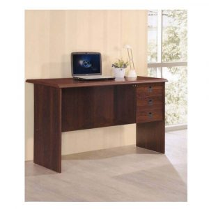 Woodness Venice Engineered Wood Office Table (Free Standing, Finish Color - Dirty Oak)