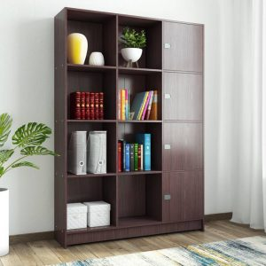 Woodness Venice Engineered Wood Semi-Open Book Shelf