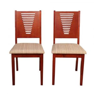 Woodness Vivian Solid Wood Dining Chair