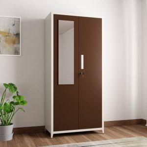 Ryan Metal 2 Door Wardrobe