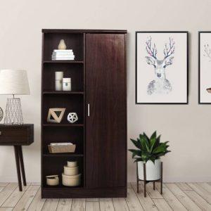Swarna Ibiza Engineered Wood Almirah