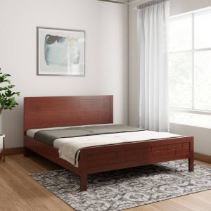 Deloitte Engineered Wood Queen Size Bed