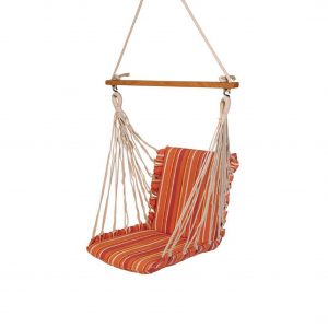 Haiti Cotton Soft Garden Outdoor Swing Chair (Finish - Tropical)