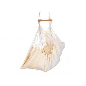 Baffin Cotton Fabric Patio Swing Chair (Oatmeal)