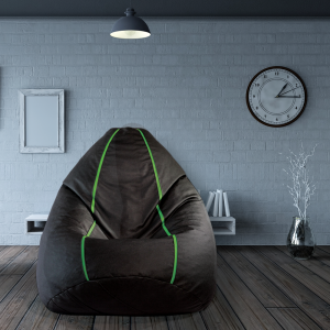 Buy Sporty Bean Bag with beans in Green