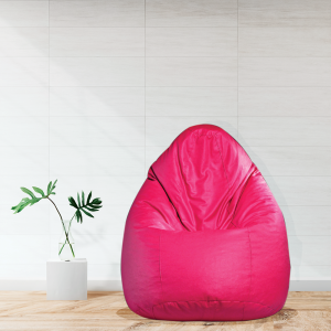 Buy Classic Bean Bag with Beans in Pink