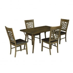 Armidale Solid Wood 4 Seater Dining Set