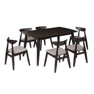 Buy Bega Solid Wood 6 Seater Dining Set Online