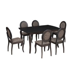 Buy Bowral Solid Wood 6 Seater Dining Set Online