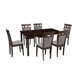 Buy Balra Solid Wood 6 Seater Dining Set Online