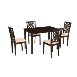 Buy Canberra Solid Wood 4 Seater Dining Set Online