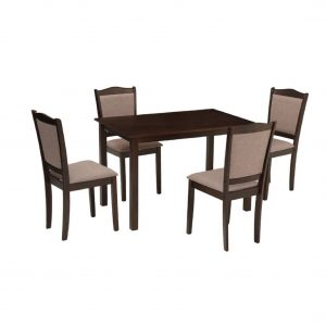 Buy Albury Solid Wood 4 Seater Dining Set Online