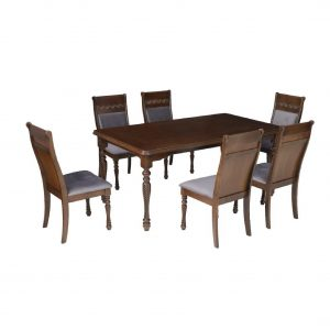 Buy Dubbo Solid Wood 6 Seater Dining Set Online