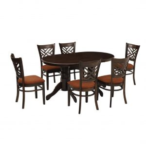Buy Cober Solid Wood 6 Seater Dining Set Online