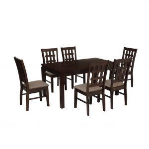Buy Coffs Solid Wood 6 Seater Dining Set Online