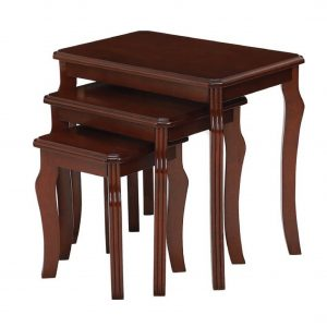 Moruya Solid Wood Nesting Table