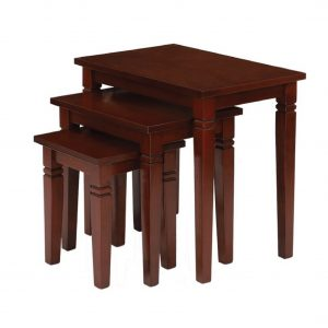 Buy Brook Solid Wood Nesting Table Online