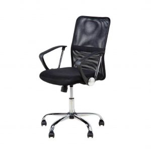 Buy Singleton Synthetic Office Arm Chair Online