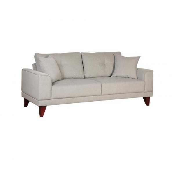 Buy Arco Three Seater Sofa in Ash Grey Colour Online
