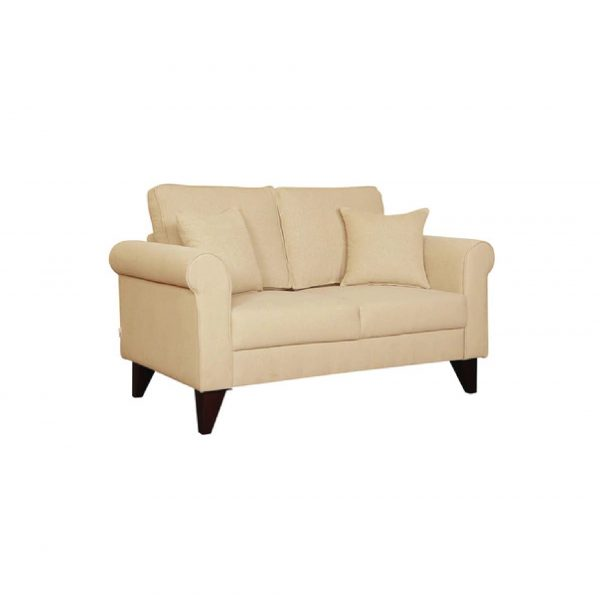 Buy Sarno Two Seater Sofa in Beige Colour Online