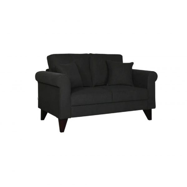 Buy Sarno Two Seater Sofa in Charcoal Grey Colour Online