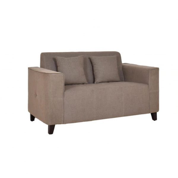 Buy Faenza Two Seater Sofa in Sandy Brown Colour Online