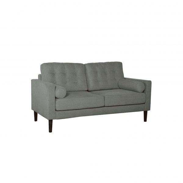 Buy Forli Two Seater Sofa in Ash Grey Colour Online