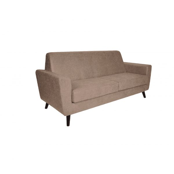 Buy Greco Three Seater Sofa in Beige Colour Online