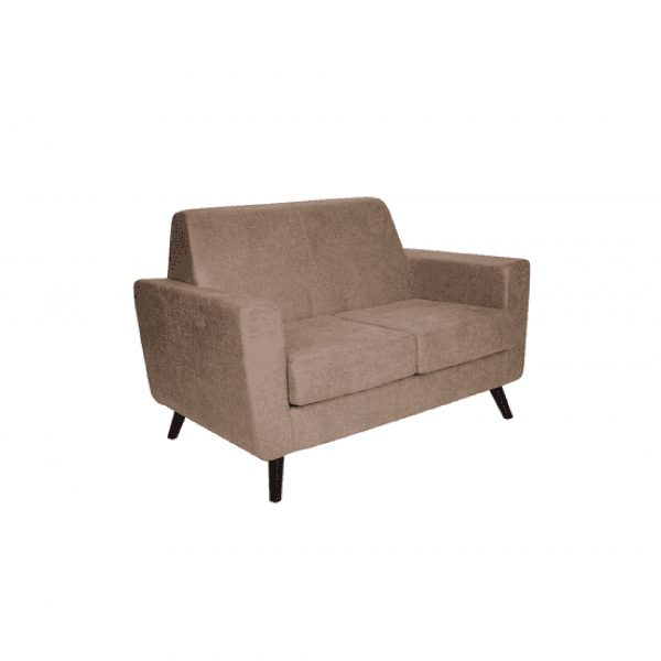 Buy Greco Two Seater Sofa in Beige Colour Online