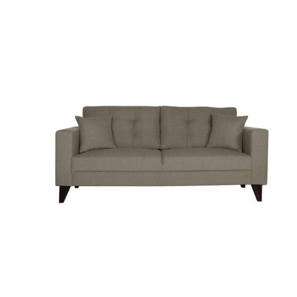 Buy Inferio Three Seater Sofa in Sandy Brown Colour Online