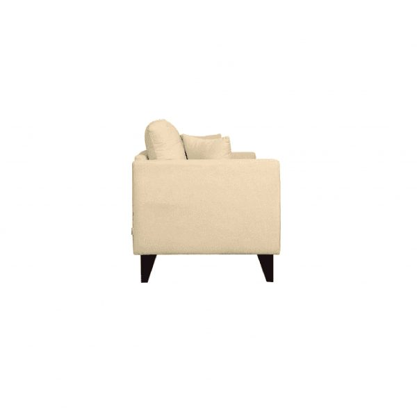 Buy Inferio Two Seater Sofa in Beige Colour Online