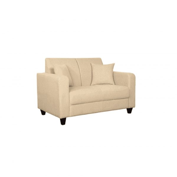 Buy Naples Two Seater Sofa in Beige Colour Online