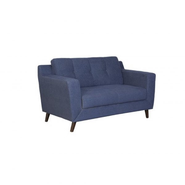 Buy Nocera Two Seater Sofa in Navy Blue Colour Online
