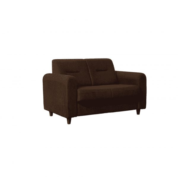 Buy Nola Two Seater Sofa in Chestnut Brown Colour Online