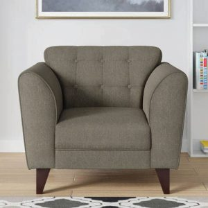 Buy Ortici One Seater Sofa in Sandy Brown Color Online