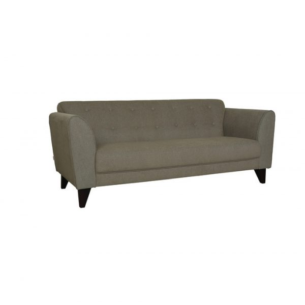 Buy Ortici Three Seater Sofa in Sandy Brown Color Online