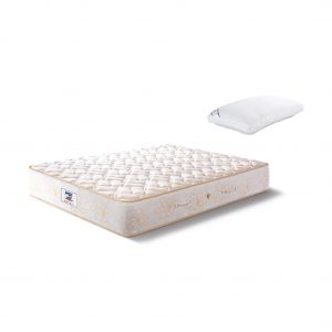 Buy Peps Restonic Opulence 10 inch Beige Normal Top King Spring Mattress Online