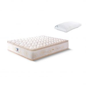 Buy Peps Restonic Opulence 10 inch Beige Pillow Top Single Spring Mattress