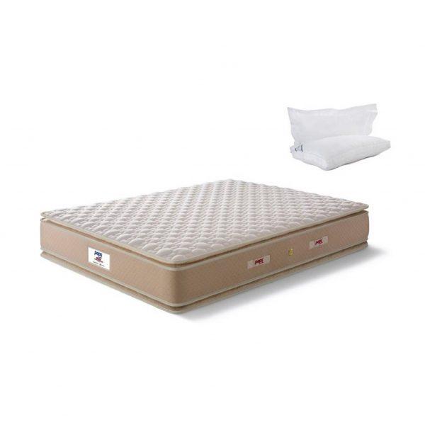 Buy Peps Restonic Sanibel 6 inch Beige Pillow Top Queen Spring Mattress