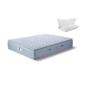 Buy Peps Restonic Sanibel 6 inch Blue Pillow Top King Spring Mattress