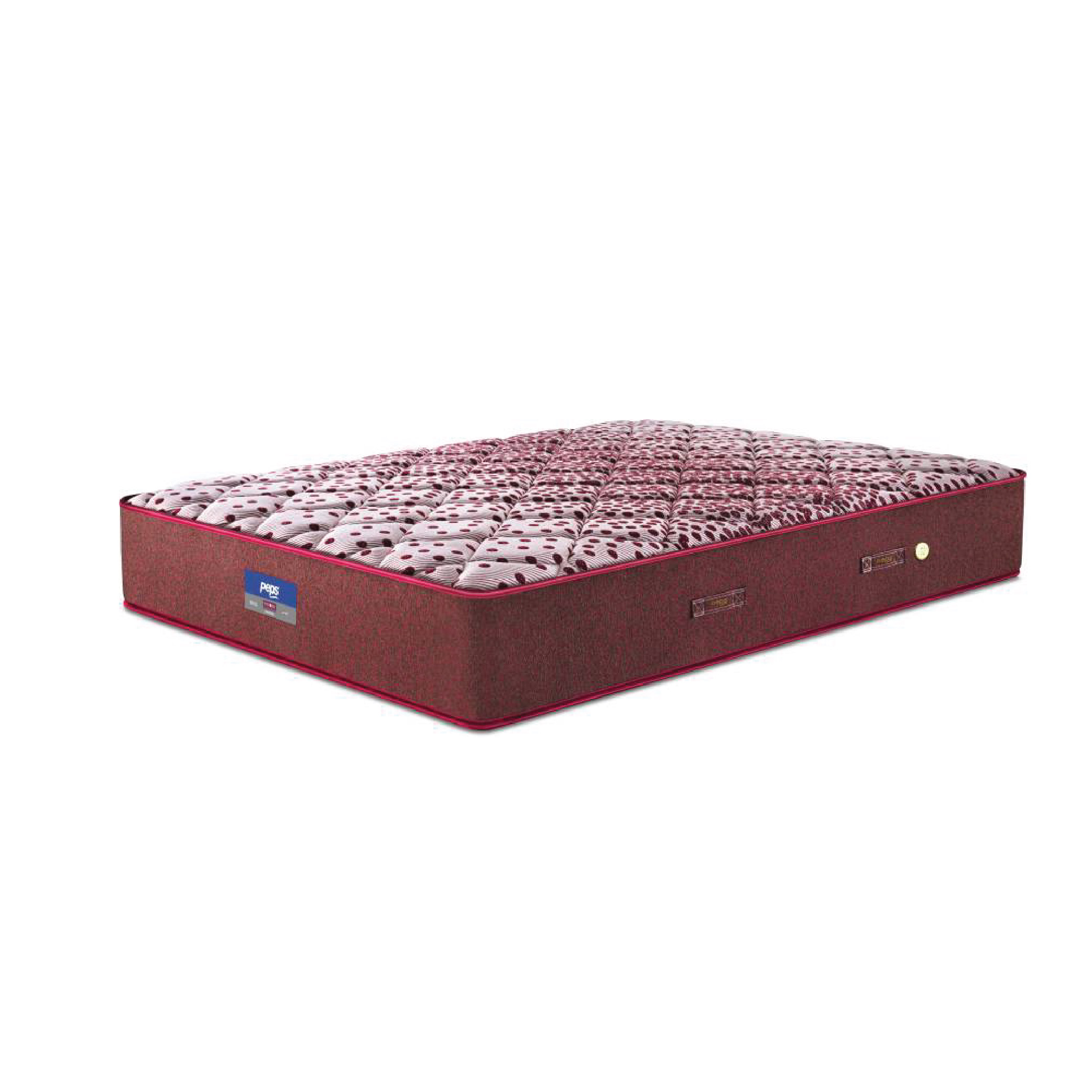 Buy Peps Restonic Sanibel 6 inch Brown Queen Spring Mattress Online