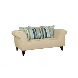 Buy Salerno Two Seater Sofa in Beige Colour Online