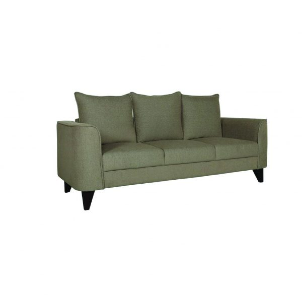 Buy Sessa Three Seater Sofa in Sandy Brown Colour Online